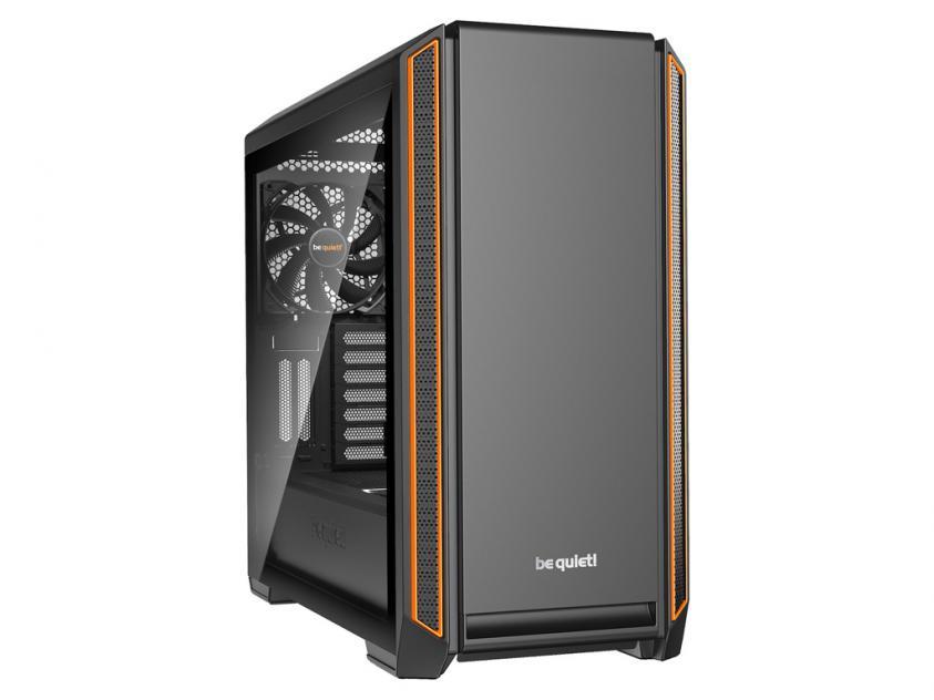 Κουτί Be Quiet Silent Base 601 Tempered Glass Orange (BGW25)