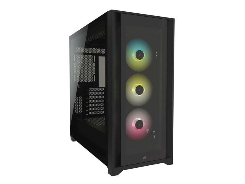 Κουτί Corsair iCUE 5000X RGB Black (CC-9011212-WW)