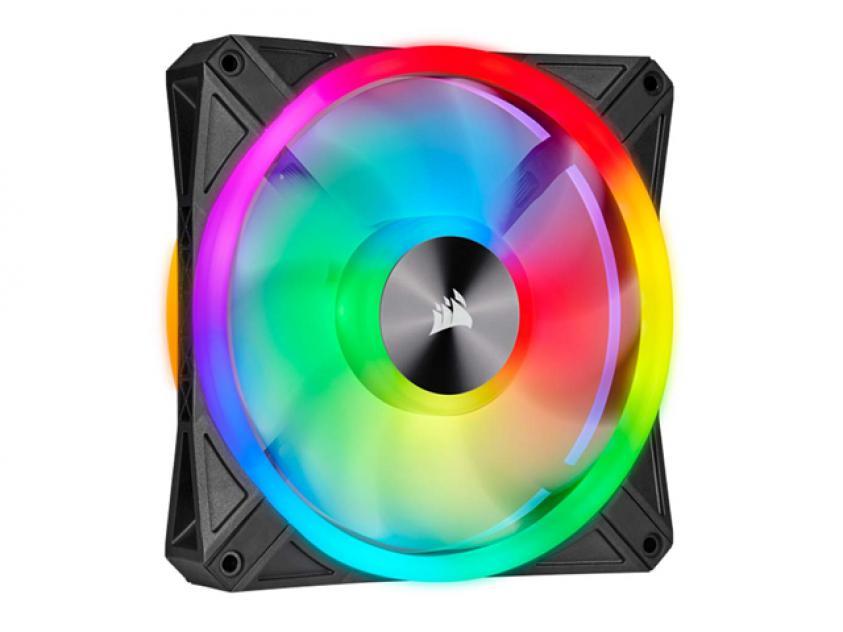 Ανεμιστήρας Corsair iCUE QL120 120mm RGB Black (CO-9050097-WW)