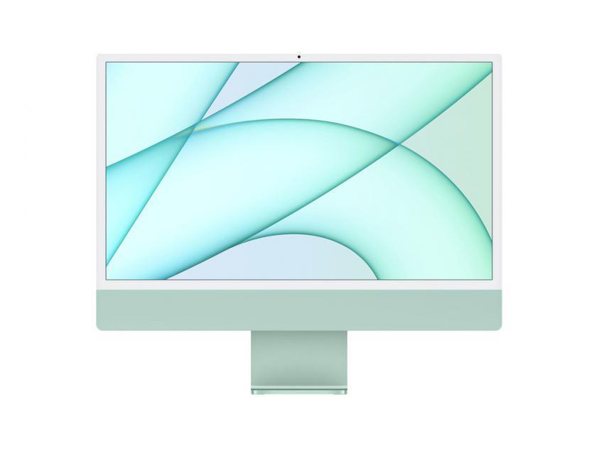 Desktop Apple iMac 2021 8Core and 7Core GPU M1 8GB/256GB/ 24 4.5K Retina - Green  (MJV83GR/A)