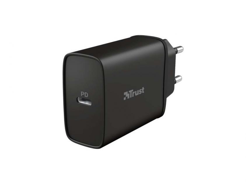 Wall Charger Trust 18W QMAX USB-C (23556)
