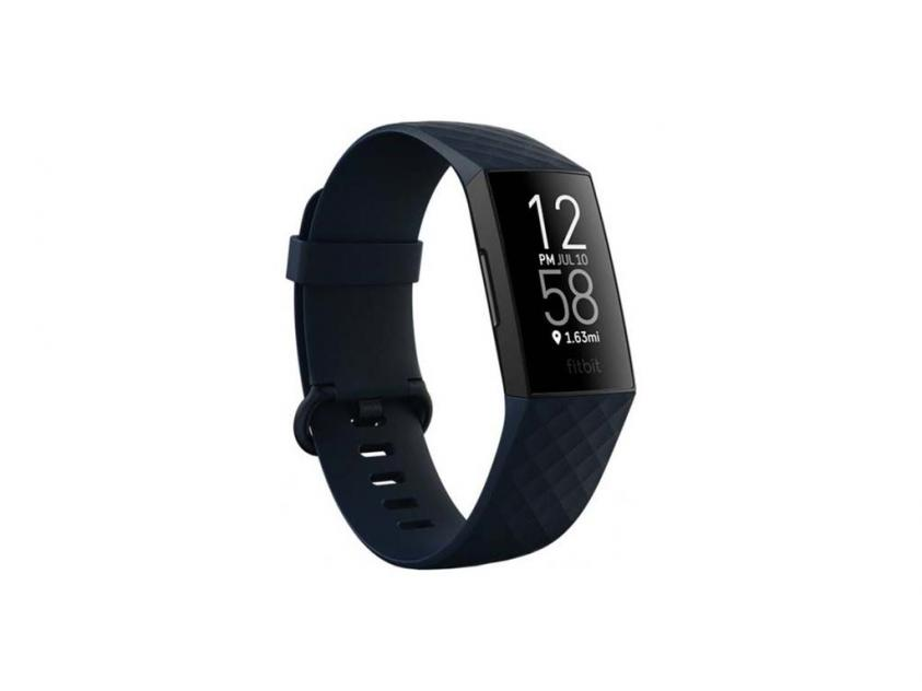 Activity Tracker Fitbit Charge 4 Blue/Black (FB417BKNV)
