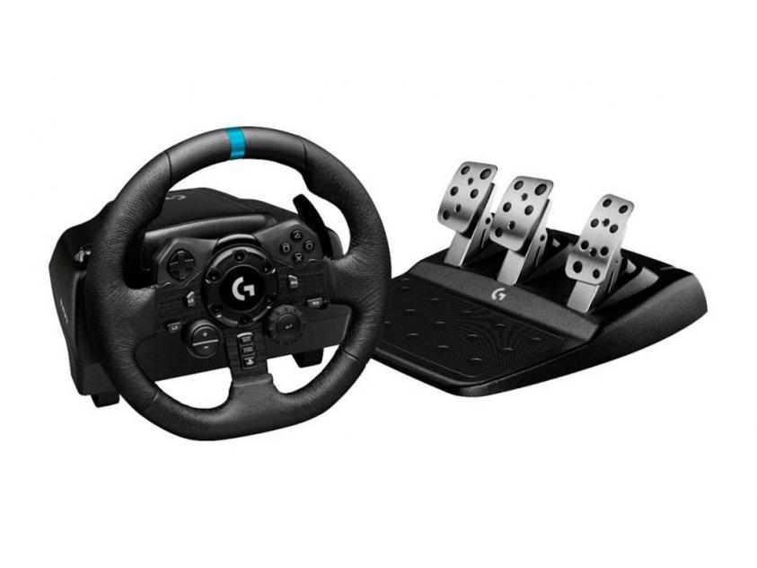 Τιμονιέρα Racing Wheel Logitech G923 Trueforce For PS5/PS4/PC (941-000149)