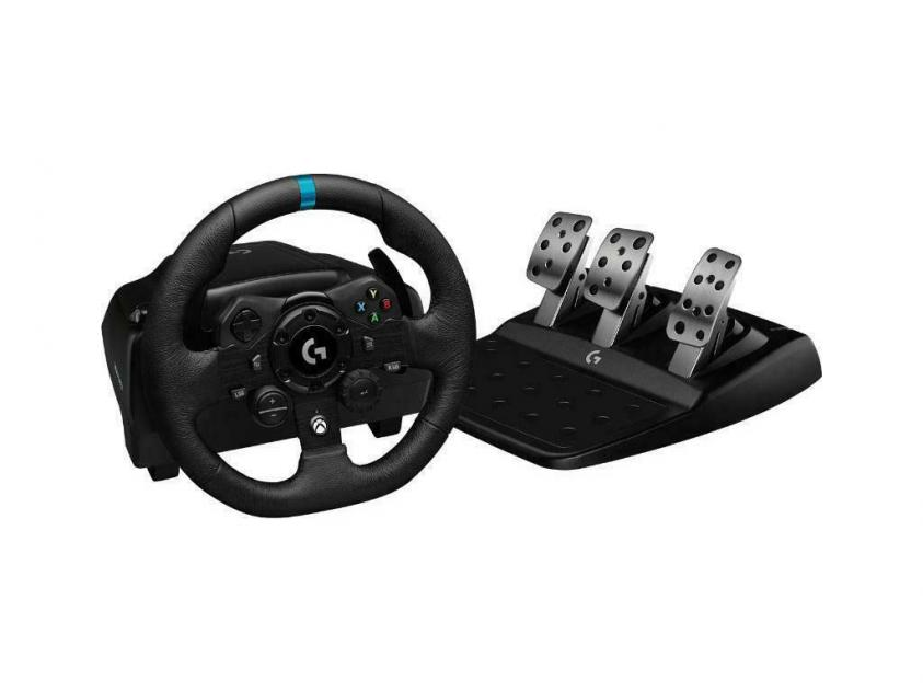 Τιμονιέρα Racing Wheel Logitech G923 Trueforce For XBOX/PC (941-000158)