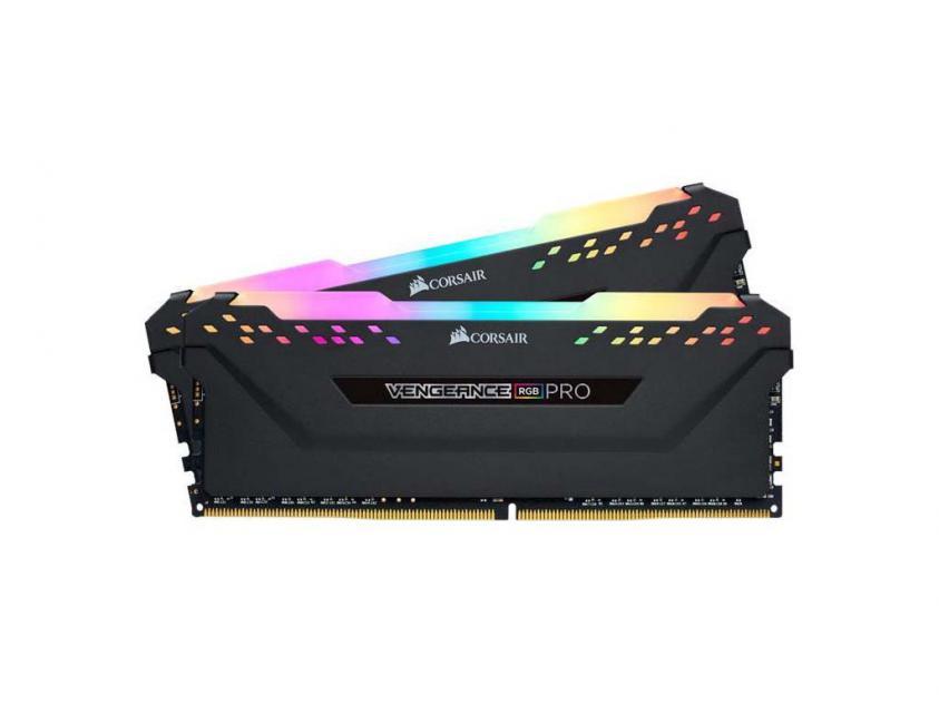 Μνήμη RAM Corsair Vengeance RGB PRO 32GB (2x16GB) DDR4 3600MHz CL18 (CMW32GX4M2D3600C18)
