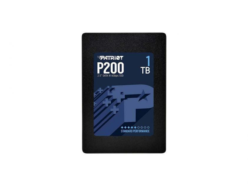 Εσωτερικός Σκληρός Δίσκος SSD Patriot P200 1TB 2.5-inch (P200S1TB25)