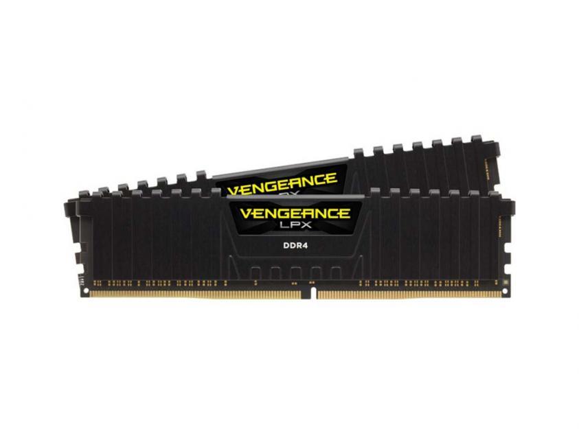 Μνήμη RAM Vengeance Black LPX 64GB (2X32GB) DDR4 3000MHz C16 (CMK64GX4M2D3000C16)