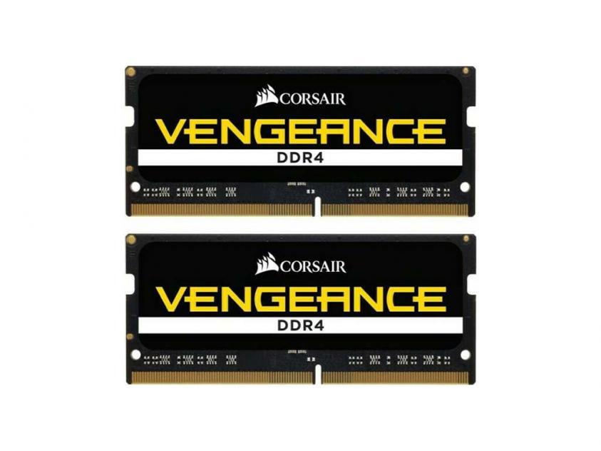 Μνήμη RAM Vengeance 32GB (2X16GB) DDR4 3000MHz CL18 SODIMM (CMSX32GX4M2A3000C18)