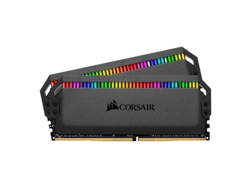 Μνήμη RAM Dominator Platinum RGB 16GB (2X8GB) DDR4 3200MHz C16 (CMT16GX4M2C3200C16)