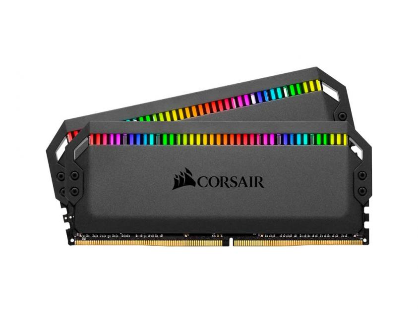Μνήμη RAM Dominator Platinum RGB 32GB (2X16GB) DDR4 3600MHz C18 (CMT32GX4M2Z3600C18)
