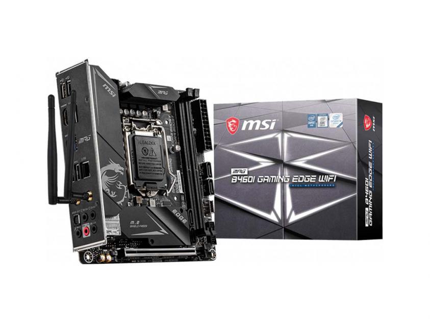 Μητρική MSI MPG B460I Gaming Edge WiFi (7C86-002R)