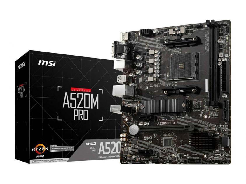 Μητρική MSI A520M Pro (7D14-005R)
