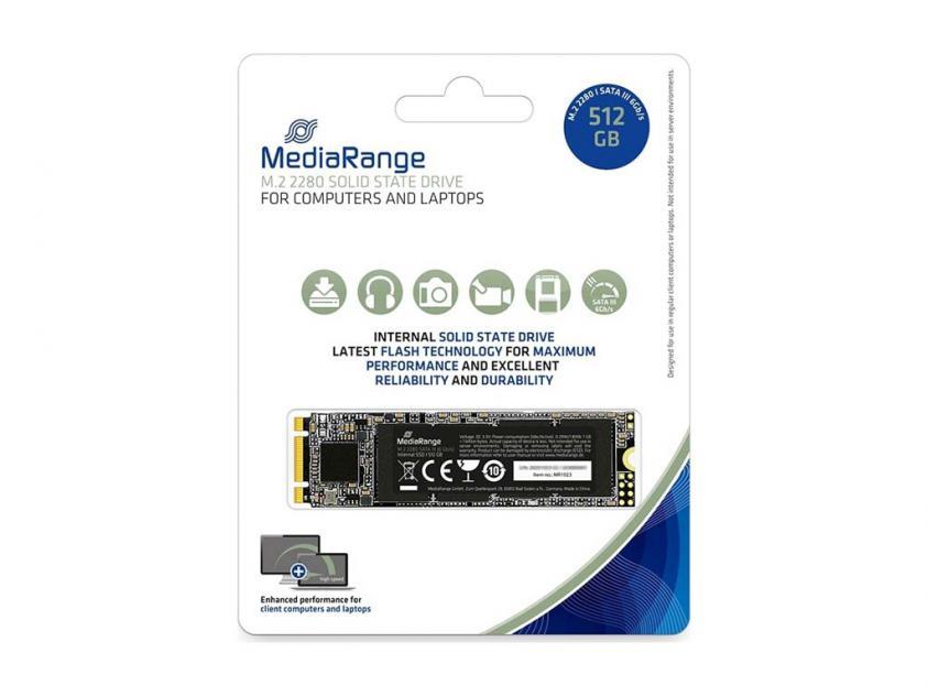 Εσωτερικός Σκληρός Δίσκος SSD MediaRange MR1023 512GB M.2 (MR1023)