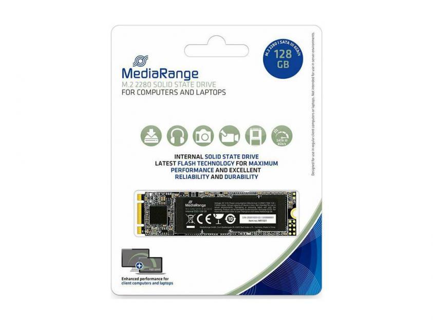 Εσωτερικός Σκληρός Δίσκος SSD MediaRange MR1021 128GB M.2 (MR1021)
