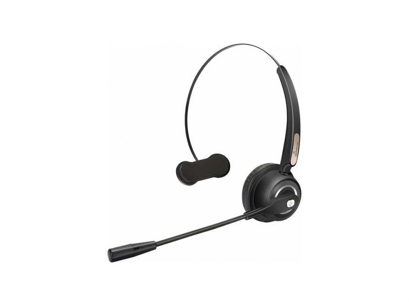 Ακουστικά MediaRange Mono Wireless Black (MROS305)