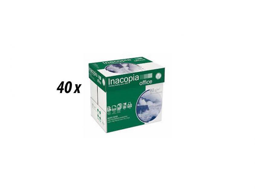 Χαρτί  Inacopia Α4 80gr 40-Boxes (inacop40boxa4)