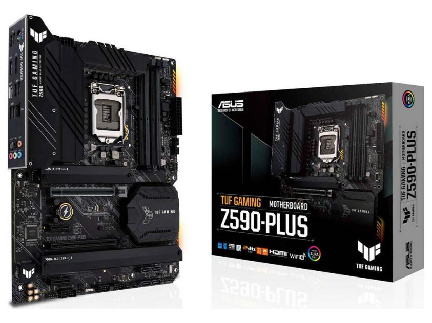 Μητρική Asus TUF Gaming Z590-Plus (90MB16B0-M0EAY0)