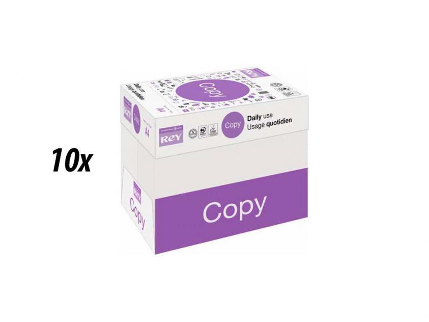 Χαρτί  Rey Copy Α4 80g 10 Boxes (rey10boxa4)