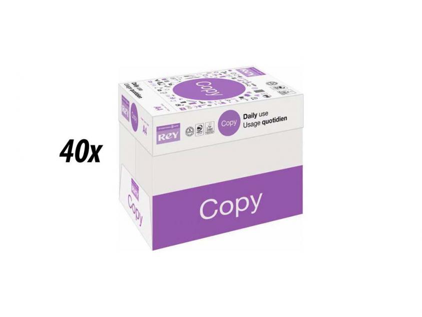 Χαρτί  Rey Copy Α4 80g 40 Boxes (rey40boxa4)