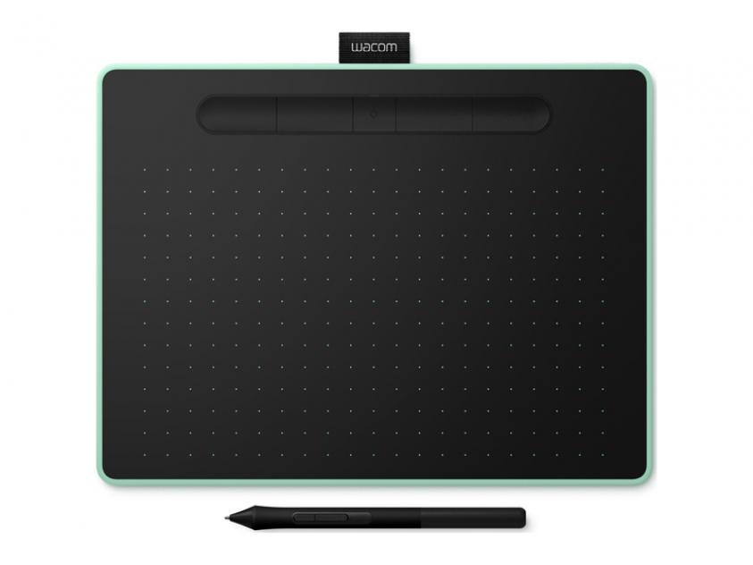 Digitizer Wacom Intuos M Bluetooth Pistachio Green (CTL-6100WLE)