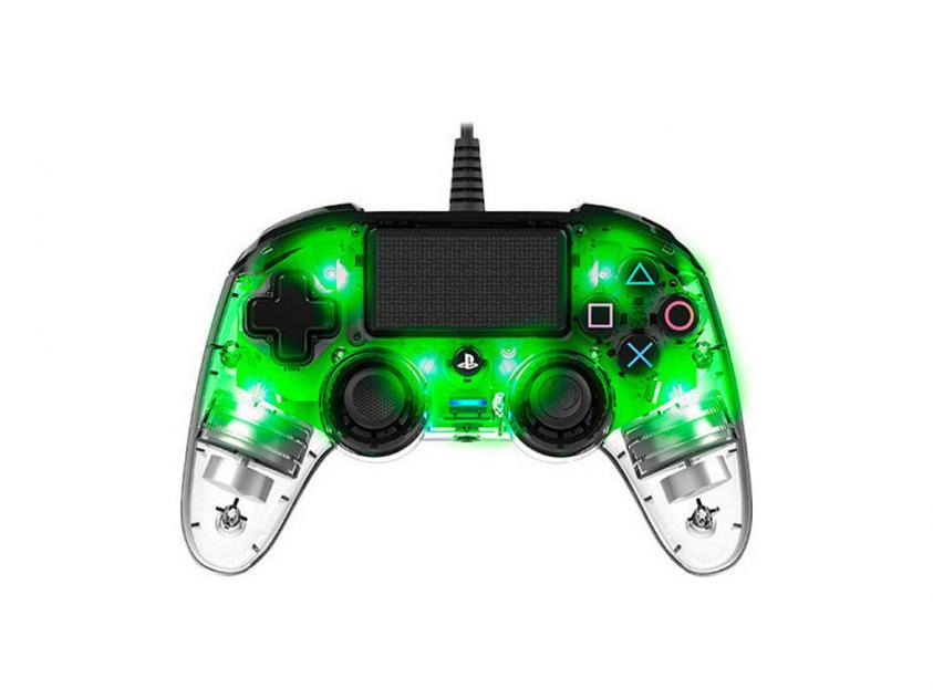 Controller Nacon Crystal Green Wired For PS4