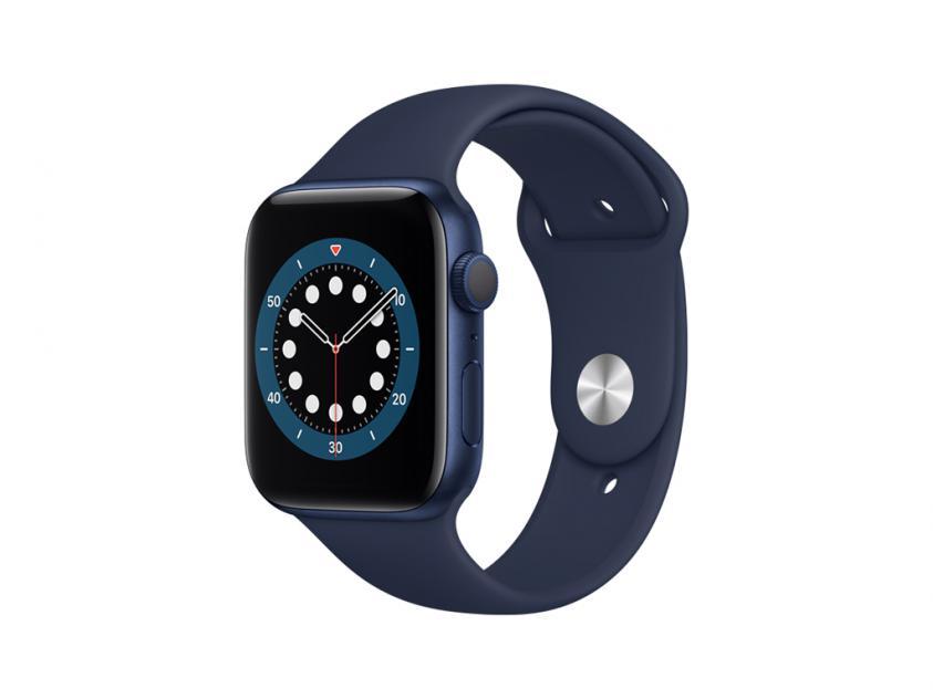 Apple Watch Series 6 Aluminium with Deep Navy Sport Band 44mm Blue (M00J3GK/A)