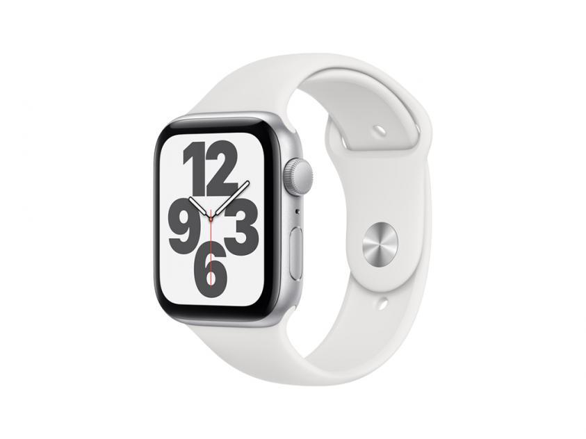 Apple Watch SE Aluminium with White Sport Band 40mm Silver (MYDM2GK/A)