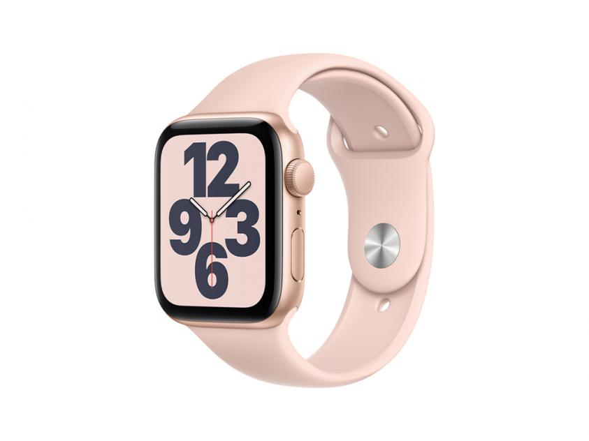 Apple Watch SE Aluminium with Pink Sand Sport Band 40mm Gold (MYDN2GK/A)