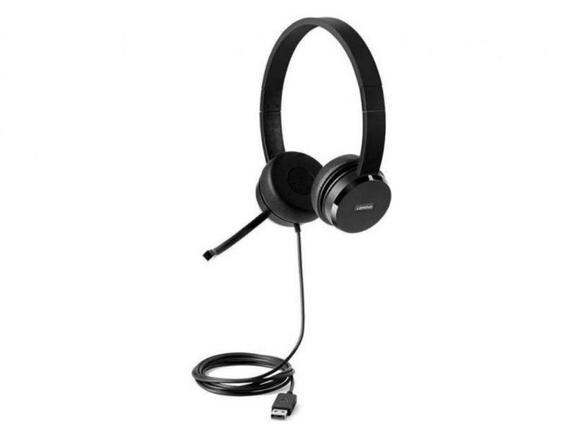 Ακουστικά Lenovo 100 Stereo Wired (4XD0X88524)
