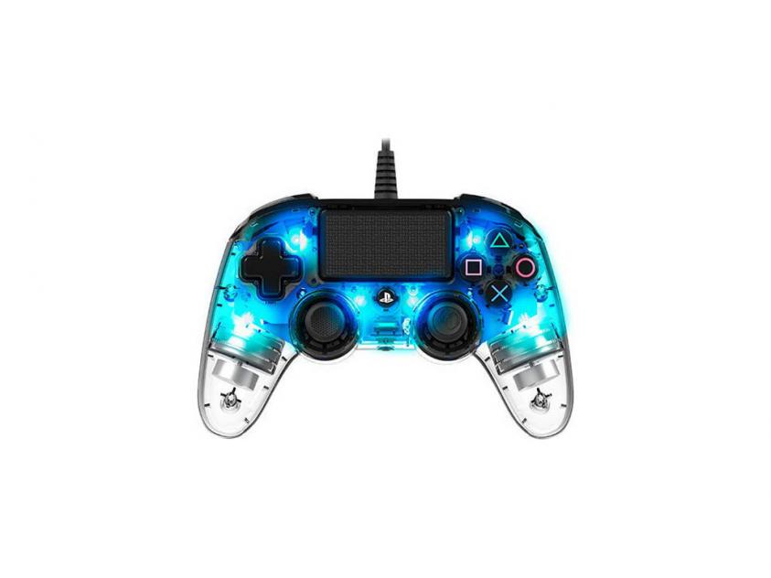 Controller Nacon Illuminated Compact Crystal Blue Wired