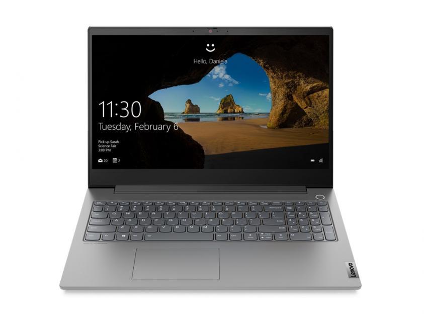 Laptop Lenovo ThinkBook 15P-IMH 15.6-inch i7-10750H/16GB/1TB/GeForce GTX 1650Ti/W10P/2Y/Grey (20V3000AGM)