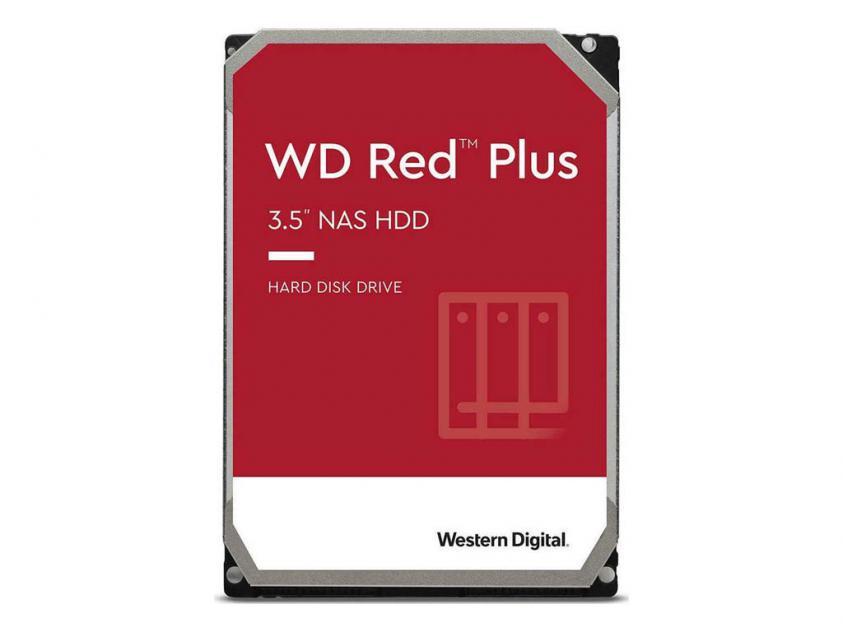 Εσωτερικός Σκληρός Δίσκος HDD Western Digital Red Plus NAS 14TB SATA III 3.5-inch (WD140EFGX)
