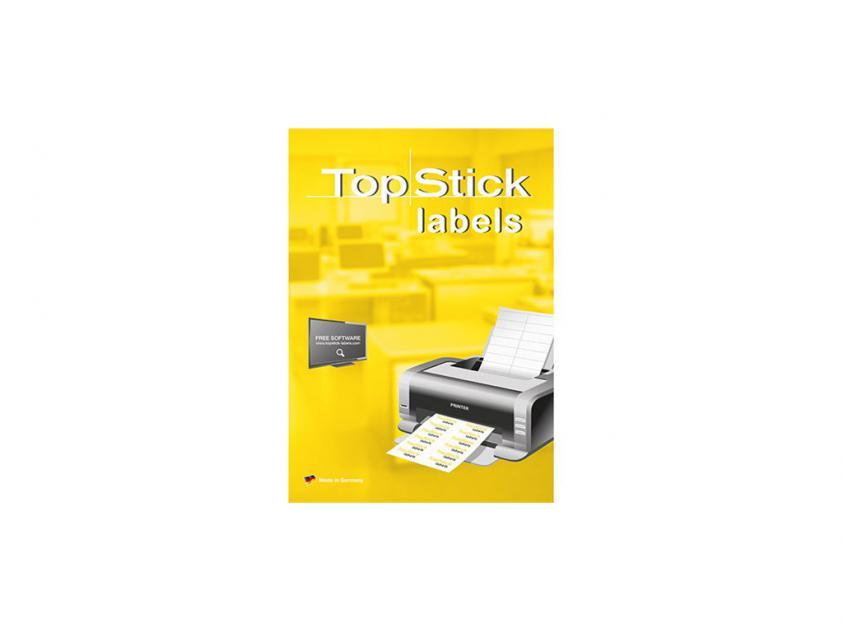 Αυτοκόλλητες Ετικέτες TopStick 199.6x289.1mm 100-Sheets (8772)
