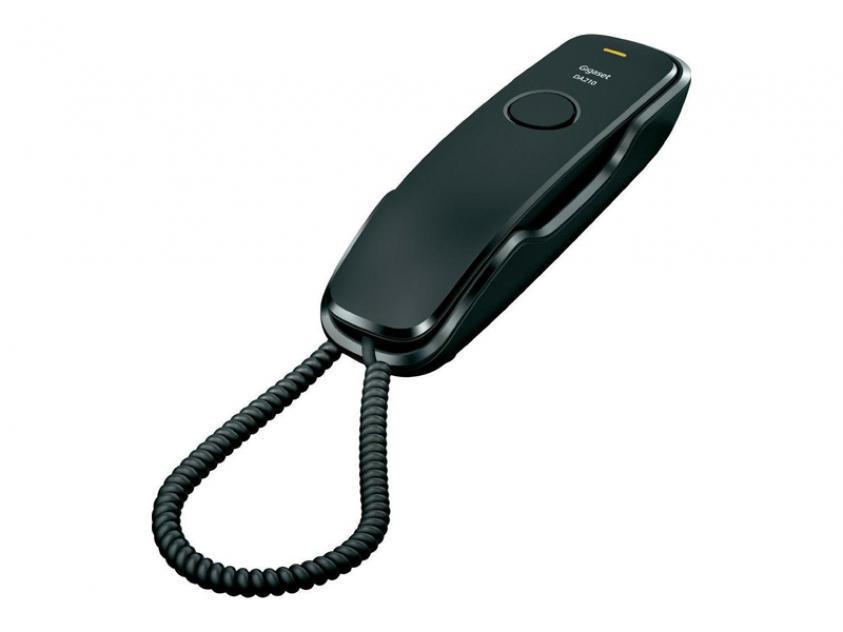 Τηλεφωνική Συσκευή Gigaset DA210 Black (S30054-S6527-R101)