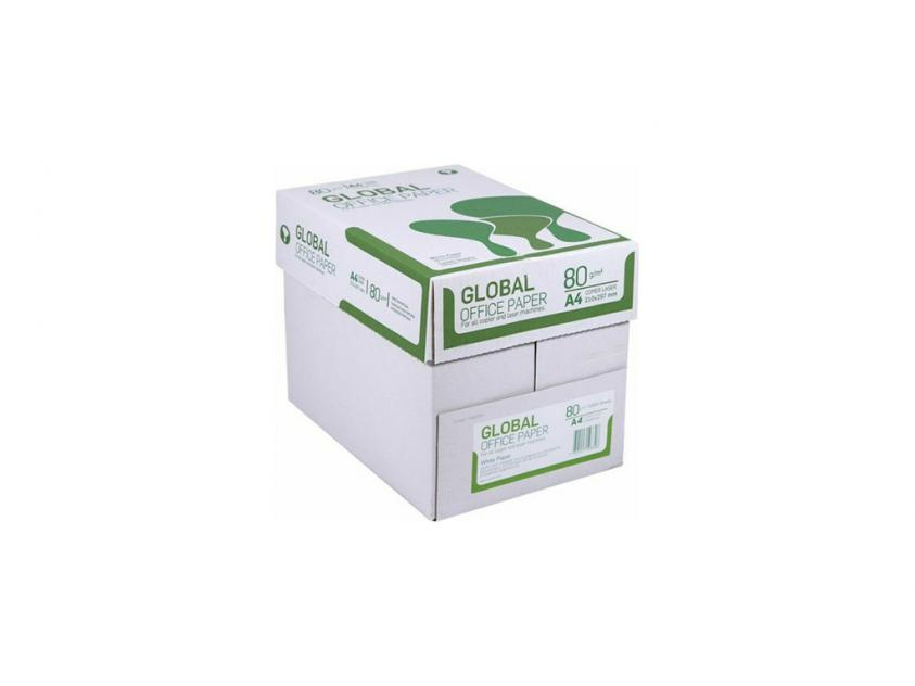 Χαρτί Global Α4 80g 5x500 Sheets Box (GLOBALBOXA4)