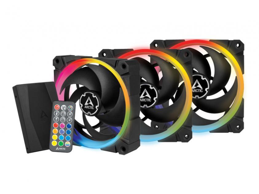 Ανεμιστήρας Arctic BioniX P120 A-RGB 120mm 3-Pack (ACFAN00156A)