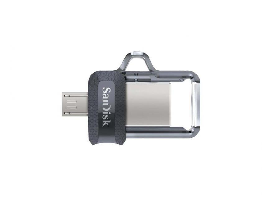 USB Flash Drive SanDisk Ultra Dual Drive M3.0 128GB (SDDD3-128G-G46)