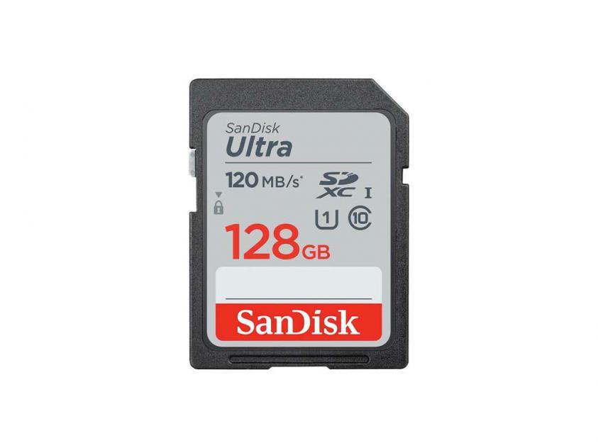 Κάρτα Μνήμης SanDisk Ultra SDHC & SDXC UHS-I 128GB (SDSDUN4-128G-GN6IN)