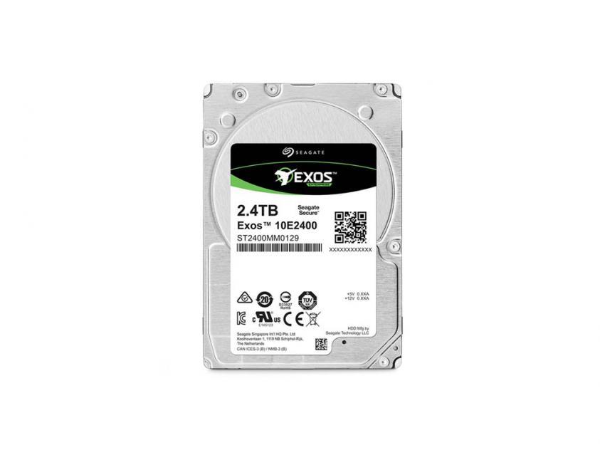 Εσωτερικός Σκληρός Δίσκος HDD Seagate Exos 2.4TB SAS 3.5-inch (ST2400MM0129)