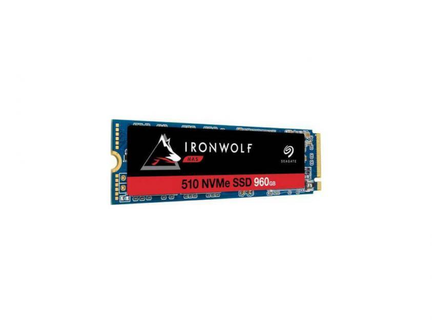 Εσωτερικός Σκληρός Δίσκος SSD Seagate Ironwolf 510 960GB M.2 (ZP960NM30011)