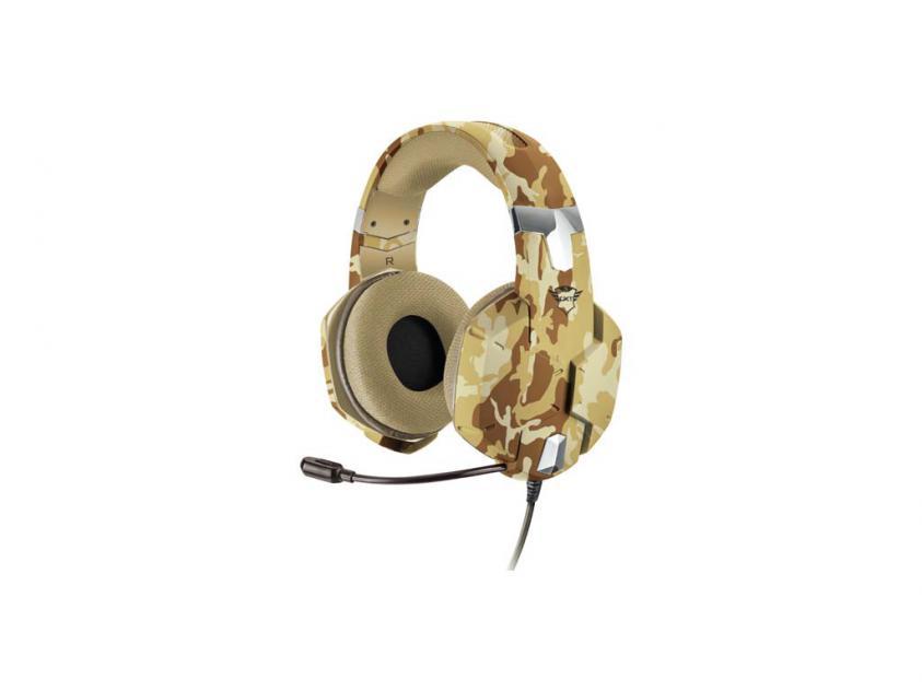 Gaming Ακουστικά Trust GXT 322D Carus Desert Camo (22125)