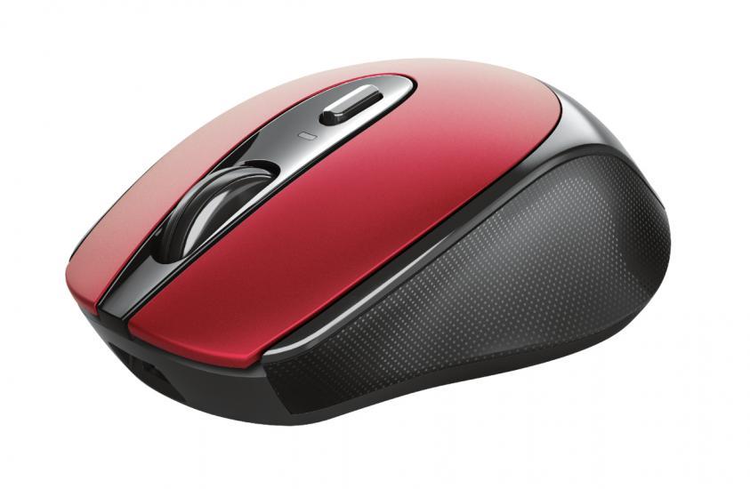 Ποντίκι Trust Zaya Rechargeable Wireless Red (24019)