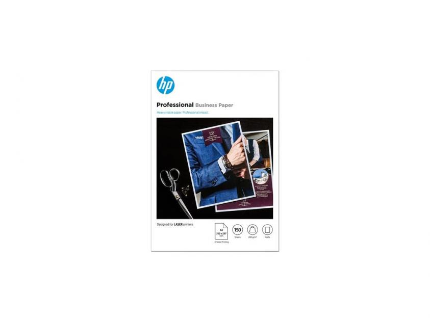 Φωτογραφικό Χαρτί HP Professional LaserJet Matte A4 200g 150-Sheets (7MV80A)