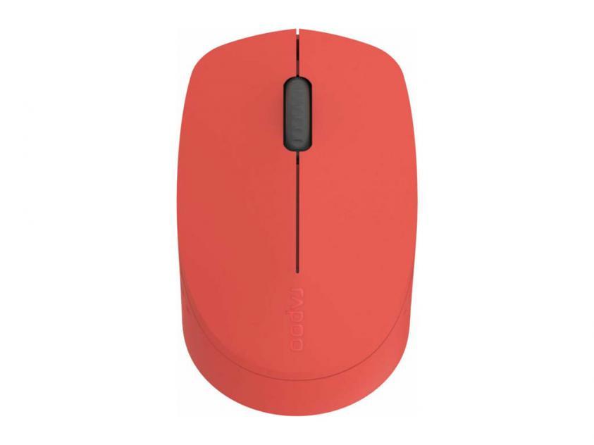 Ποντίκι Rapoo M100 Silent Red (18184)