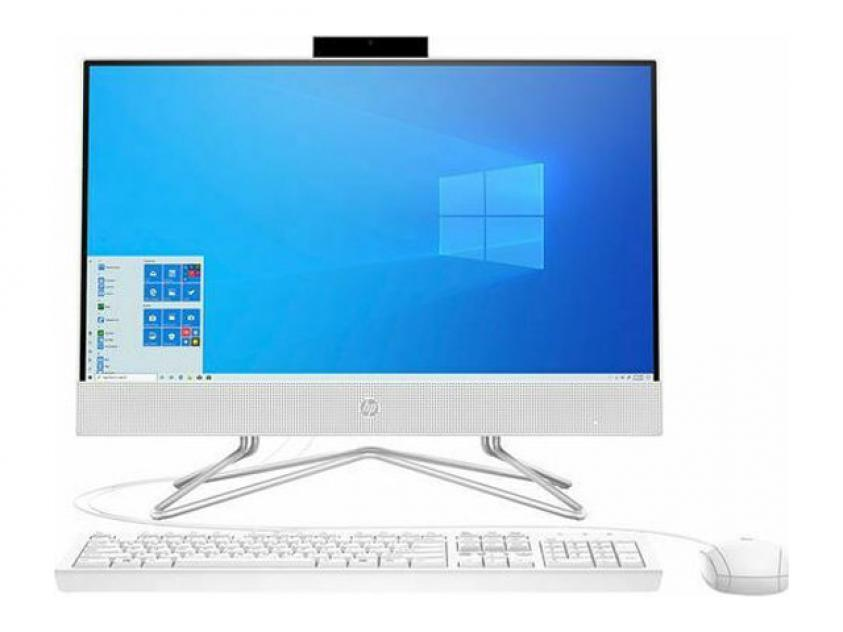 All-in-One PC HP 22-df0021nv 21.5-inch Touch i3-10100T/8GB/256GB/W10H/1Y/White (3T138EA)