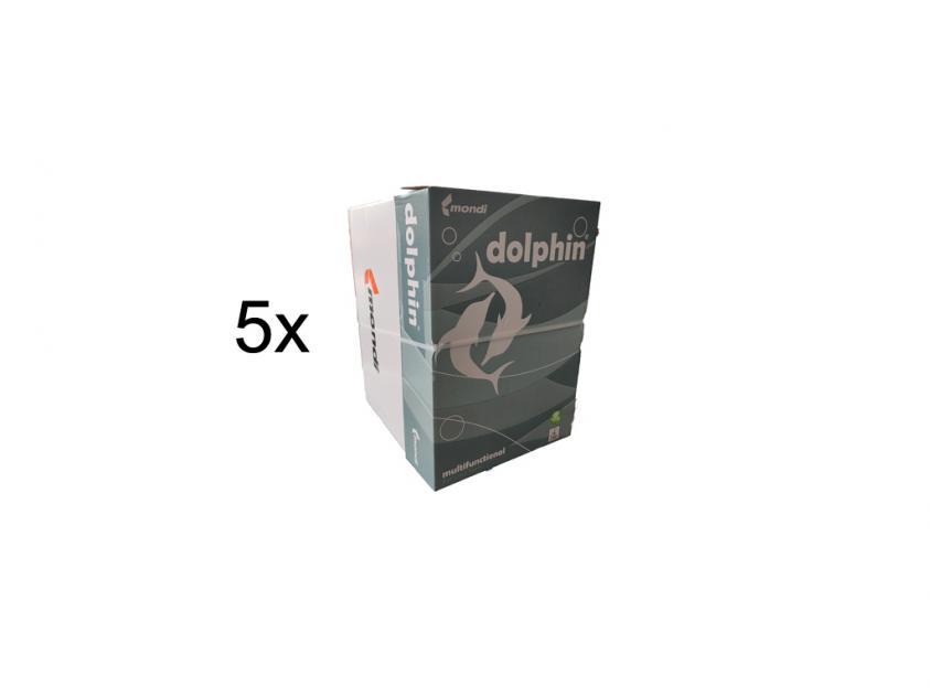 Χαρτί Dolphin Α4 80g 5 Boxes (DOLPH5BOXA4)