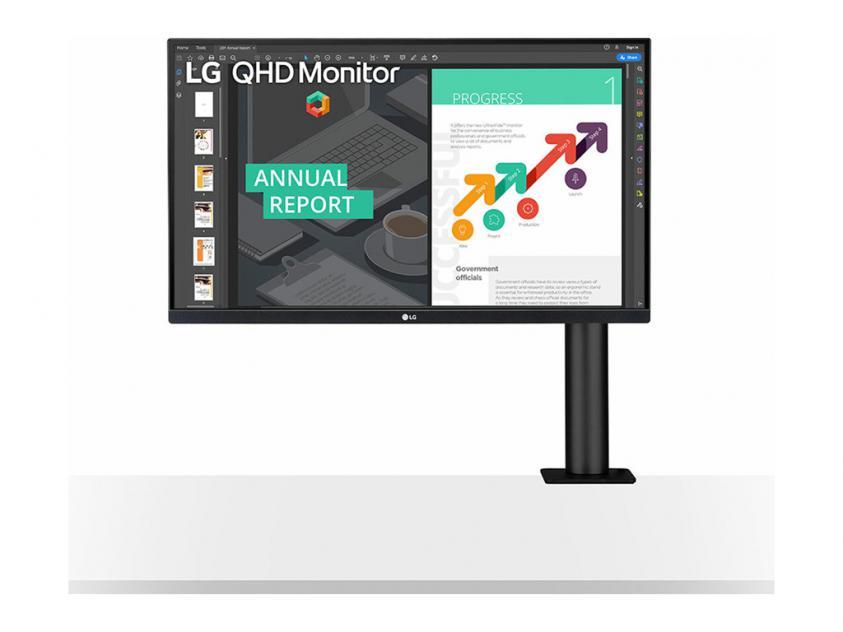 Οθόνη LG 27QN880 27-inch (27QN880-B)