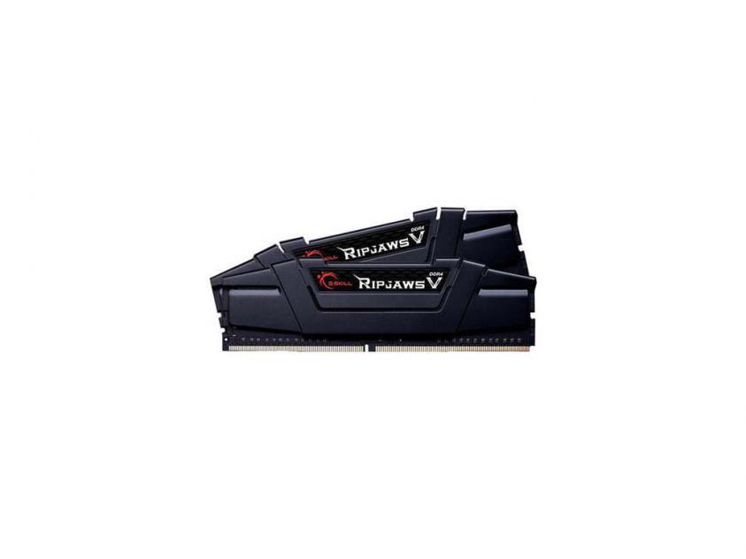 Μνήμη RAM G.Skill RipjawsV 16GB Kit (2x8GB) DDR4-3000MHz (F4-3000C15D-16GVGB)