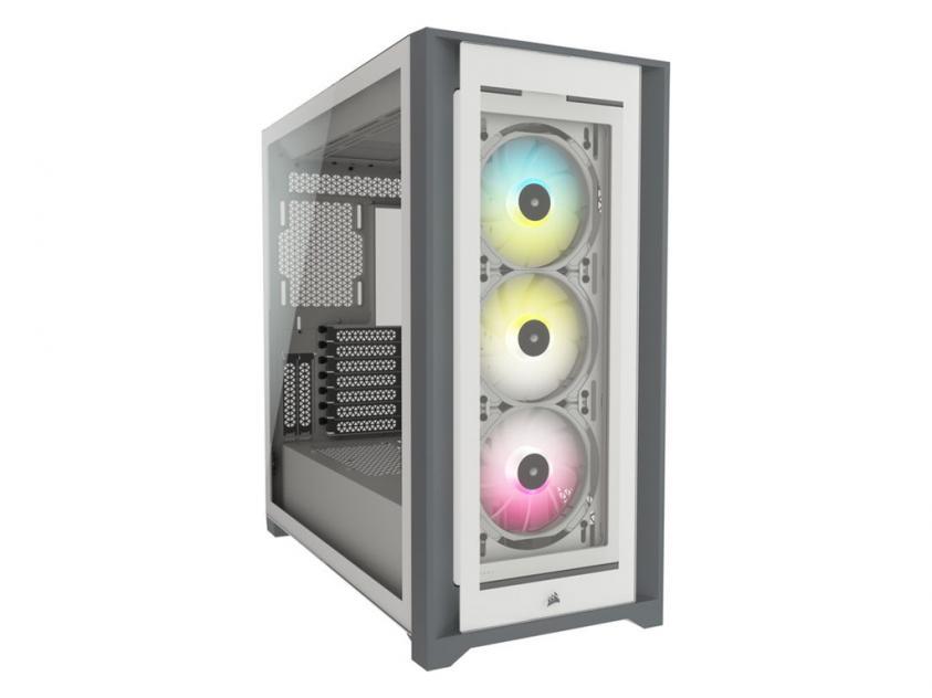 Κουτί Corsair iCUE 5000X RGB White (CC-9011213-WW)