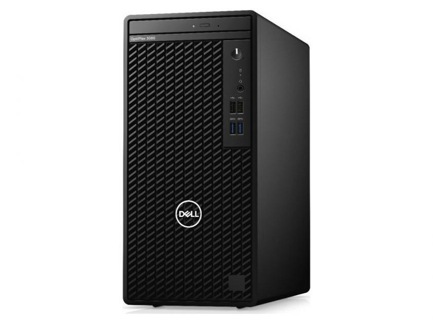 Desktop Dell OptiPlex 3080 MT i5-10505/8GB/256GBSSD/1TBHDD/W10P/5Y (471458997)